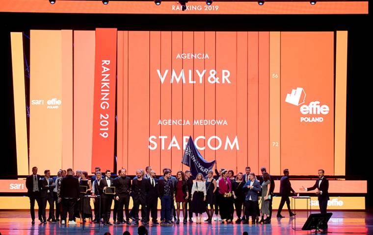Oto zwycięzcy 20. edycji Effie Awards 2019