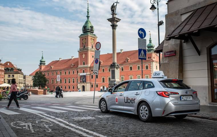 Uber otrzymuje certyfikację na wirtualną kasę fiskalną