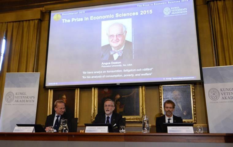 Angus Deaton laureatem nagrody Nobla z ekonomii