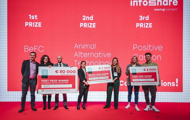 Wytwarzają prąd z wody i papieru. BeFC wygrywa Infoshare Startup Contest