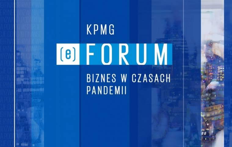 KPMG (e)Forum | Biznes w czasach pandemii. Cykl bezpłatnych konferencji online