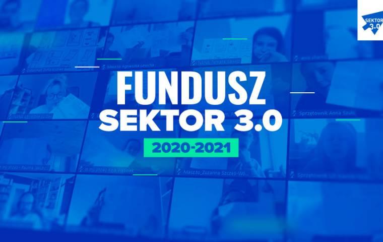 Ruszyła rekrutacja do Funduszu Sektor 3.0