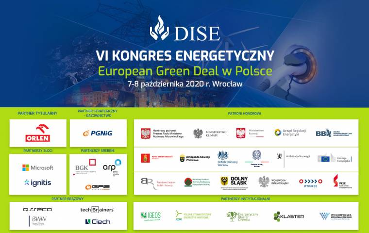 European Green Deal na VI Kongresie Energetycznym DISE