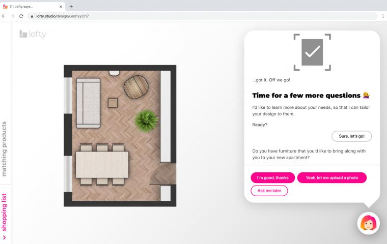 """Lofty to aplikacja, która zastąpi projektanta wnętrz. """"To oszczędność czasu i przestrzeni"""""""