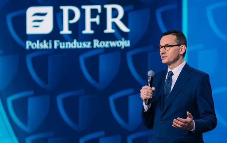 Premier: Zmienimy zasady tarczy finansowej PFR