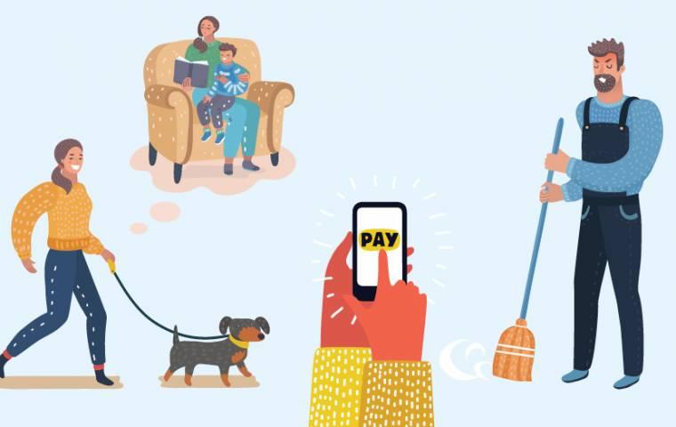 Dom, dziecko i pies