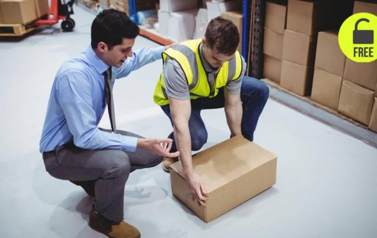 Dźwiganie w pracy a zdrowie pracowników