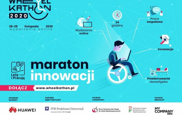 Maraton innowacji - szukamy wynalazców, którzy zmienią świat w 24 godziny