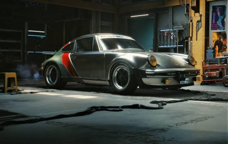 Cyberpunk 2077: CD Projekt RED nawiązuje współpracę z Porsche