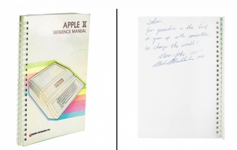 Instrukcja obsługi do komputera Apple II sprzedana za prawie 800 tys. dolarów