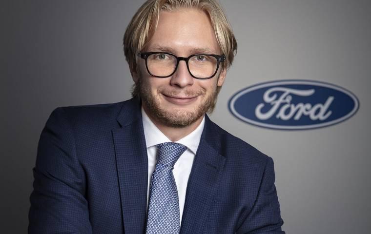 Piotr Pawlak nowym Prezesem i Dyrektorem Zarządzającym Ford Polska