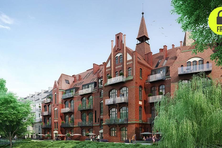 Wrocławski Bulwar Staromiejski, inwestycja i2 Development, zlokalizowana jest na ponad 2,5-hektarowym terenie z 14 budynkami (przeważnie zabyt- kowymi), z parkiem ze starodrzewiem i miejscami do rekreacji dla dzieci i seniorów.