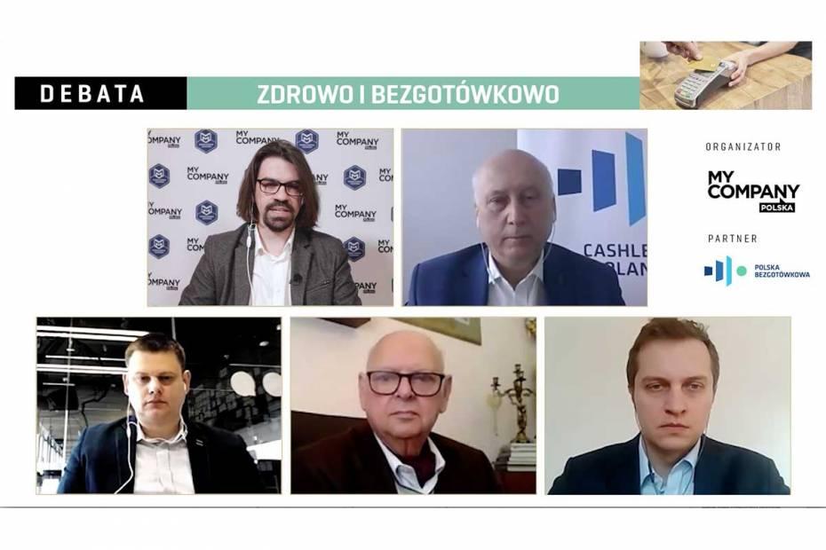 Uczestnicy debaty My Company Polska