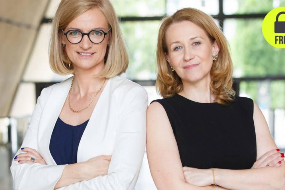 Chciałyśmy zrobić coś dobrego dla kobiet, które mierzą się z myślą o własnym biznesie. Mamy w nim duże doświadczenie i postanowiłyśmy się tym podzielić – mówią Katarzyna Wierzbowska (z lewej) i Dorota Czekaj, założycielki Sieci Przedsiębiorczych Kobiet.