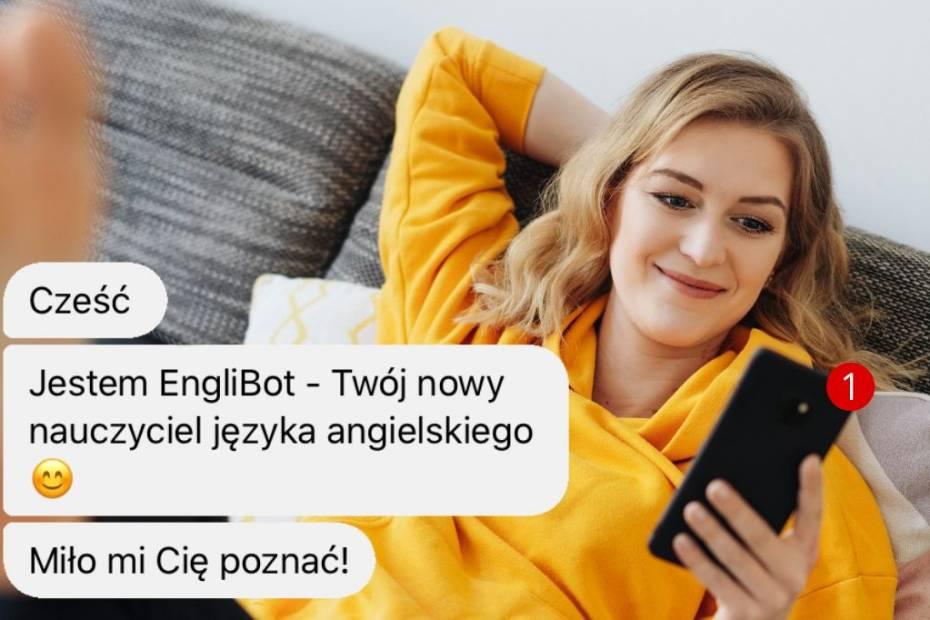 Englibot to polski bot, który na Facebooku uczy angielskiego
