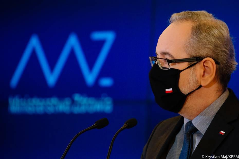 Adam Niedzielski, minister zdrowia. Fot. Krystian