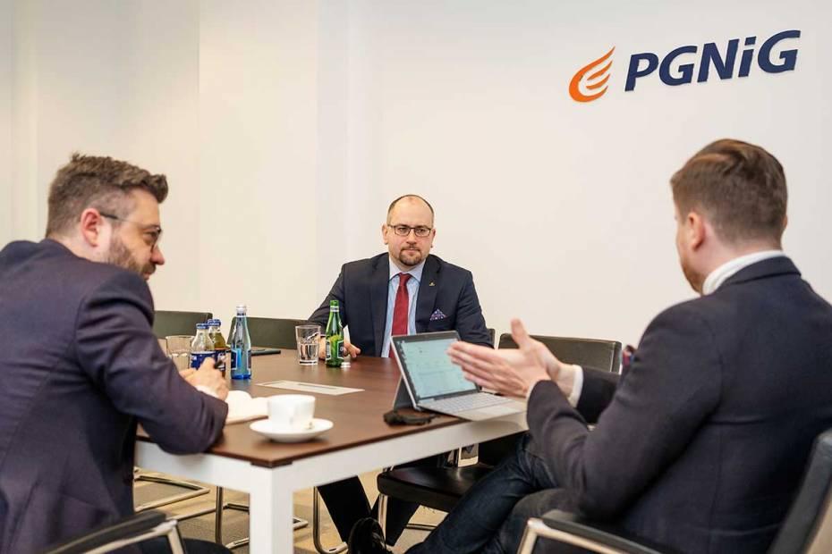 Paweł Majewski, prezes PGNiG