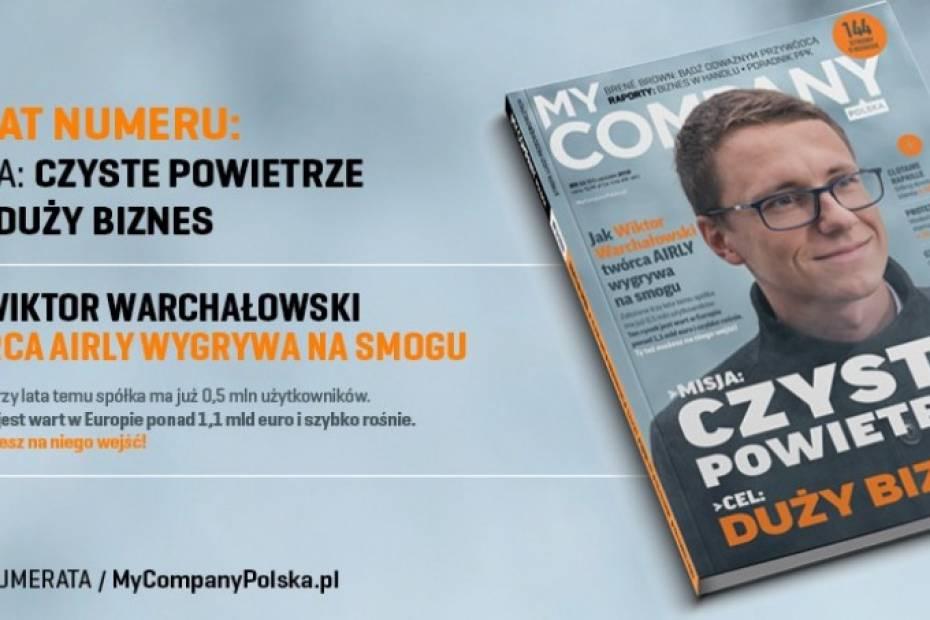 Grudniowy numer My Company Polska. Już w kioskach!