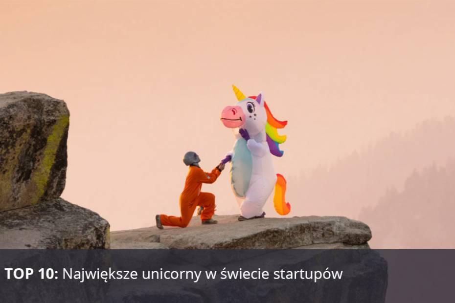 Jednorożce - startupy z wyceną wyższą niż 1 mld dol.