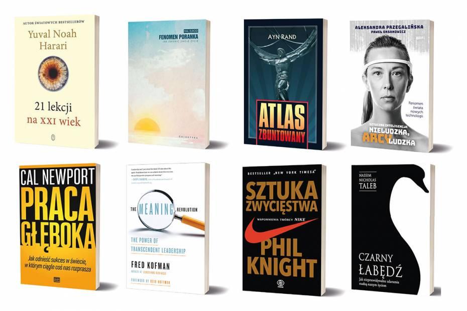 """""""Czarny łabędź"""", wspomnienia szefa Nike. Książki, które inspirują polskich przedsiębiorców"""