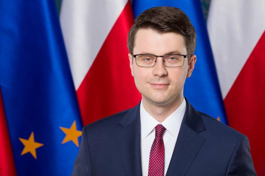 Piotr Mueller, rzecznik rządu. Fot.: Kancelaria Premiera, flickr.com