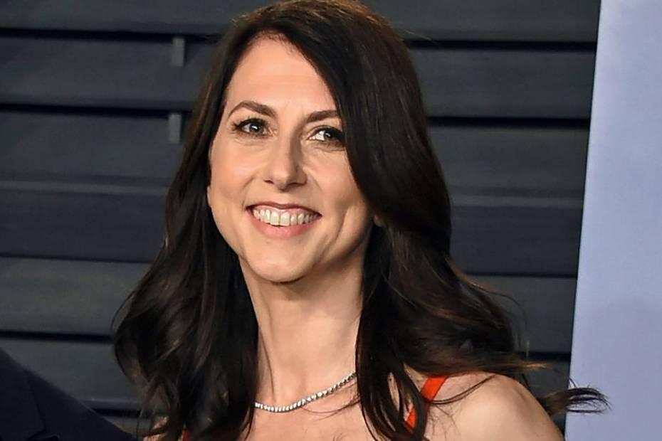 MacKenzie Scott, była żona Jeffa Bezosa / Fot. AP
