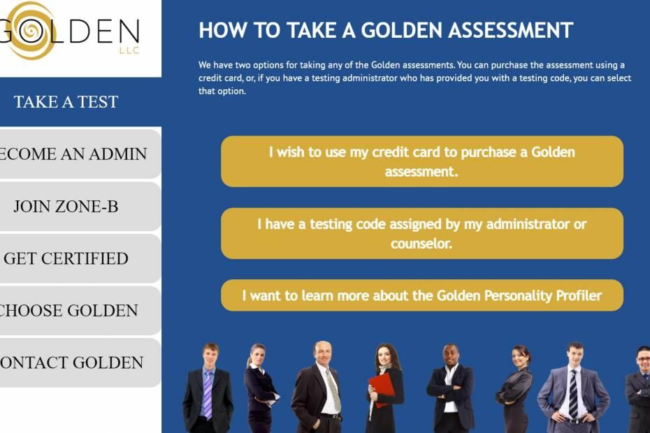 Golden Personality Profiler / Fot. Materiały własn
