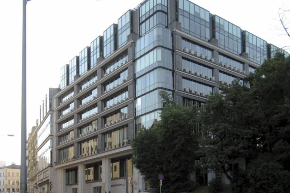 Centrum Giełdowe, ul. Książęca 4 w Warszawie, fot.: Wikimedia Commons, Adrian Grycuk, lic. CC BY-SA 3.0 pl