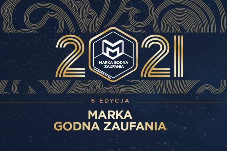 Marka Godna Zaufania 2021. Gala wręczenia statuetek