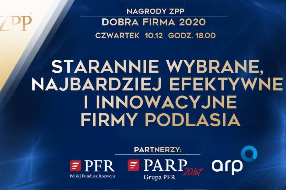 """Już 10 grudnia Gala """"Dobre Firmy województwa podlaskiego"""""""
