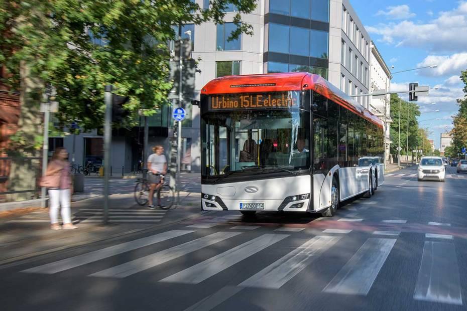 Autobusy elektryczne motorem napędowym polskiej mo
