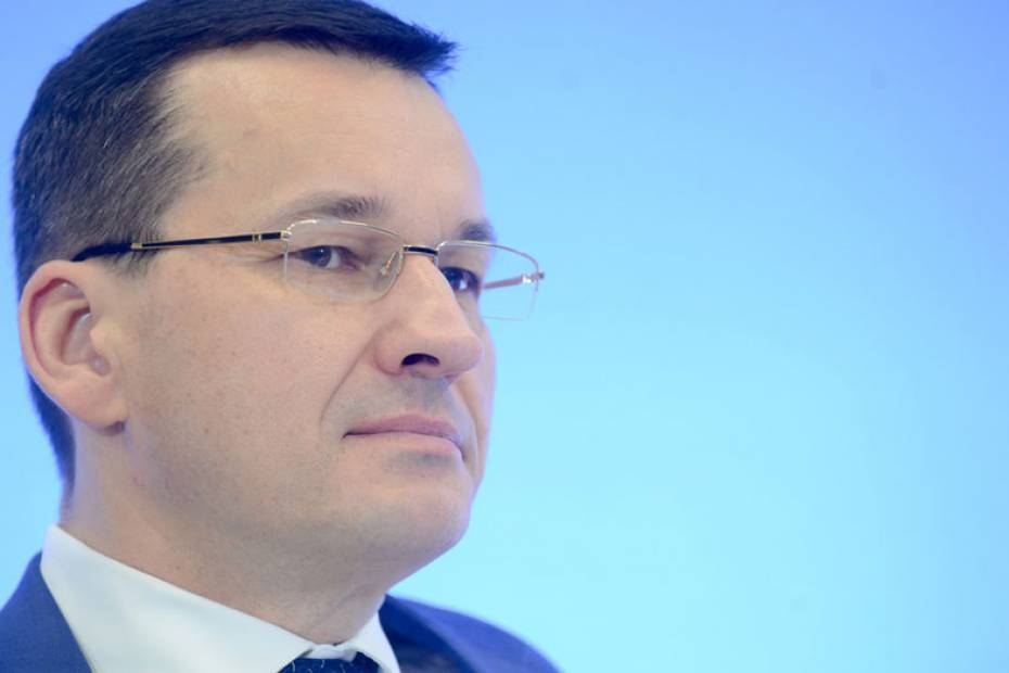 Wicepremier Mateusz Morawiecki. Fot. East News