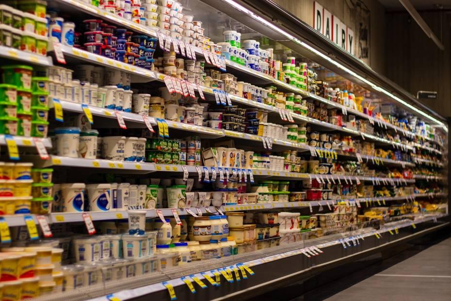 supermarket, zakupy, koszyk zakupowy