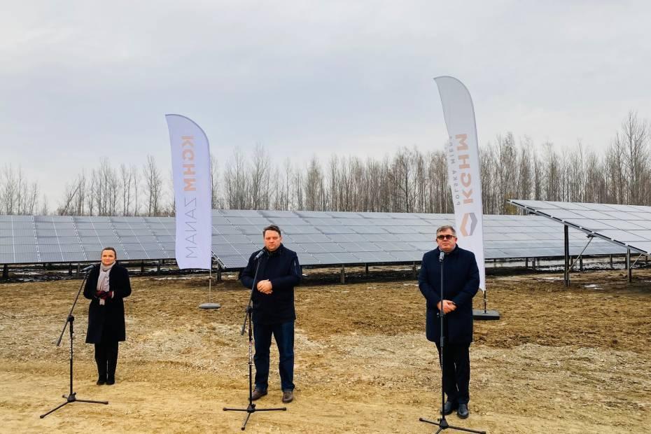 Fotowoltaika 4.0. KGHM uruchomił pierwszą w Polsce elektrownię w nowej technologii