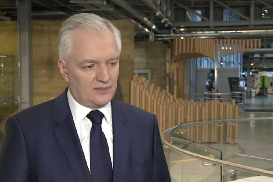 Jarosław Gowin, wicepremier, minister nauki i szkolnictwa wyższego. Fot. NEWSERIA.PL