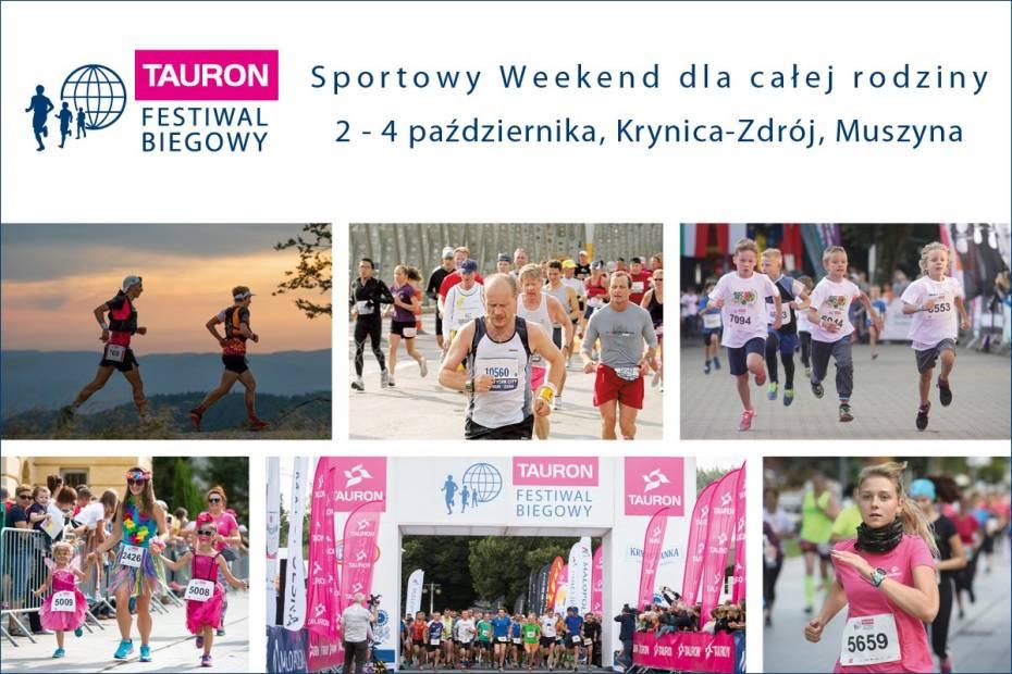 11. TAURON Festiwal Biegowy od 2.10 w Krynicy-Zdroju